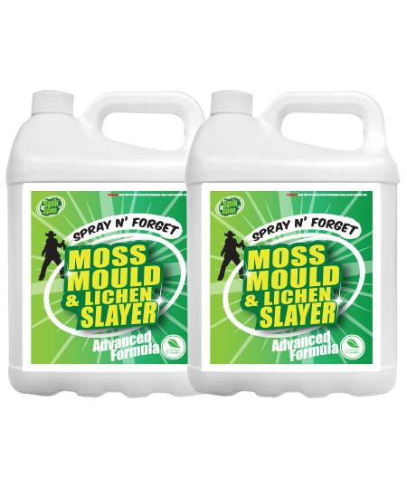 10 Litre Spik And Span Moss Mould And Lichen Killer Spik