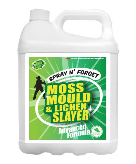 5 Litre Spik And Span Moss Mould And Lichen Killer Spik