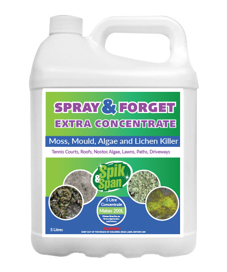 5 Litre Spray And Forget Super Concentrate Moss Mould And